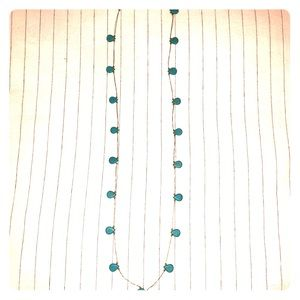 Stella & Dot Turquoise Stone Necklace